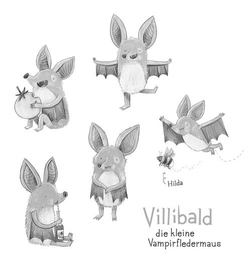 Villibald, Characterdesign, 2019