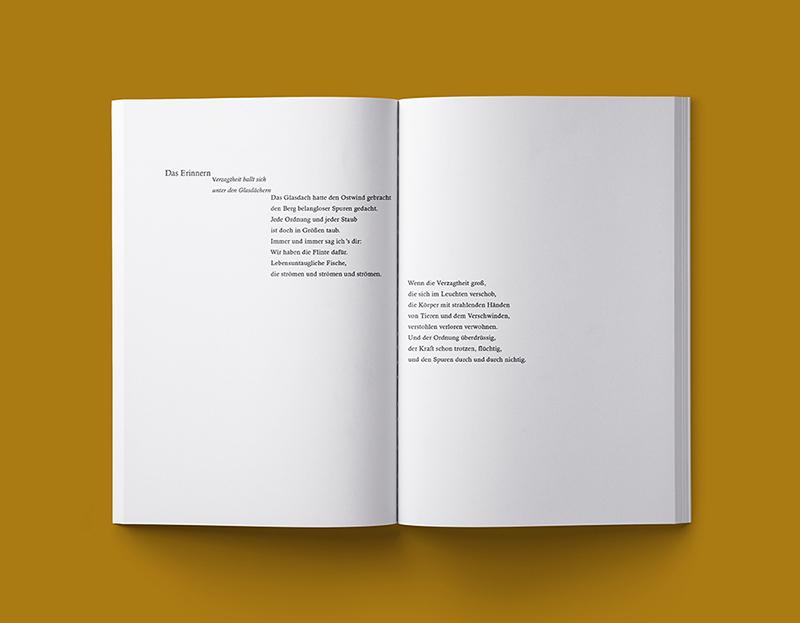 Typografisches Kompendium, studentische Arbeit
