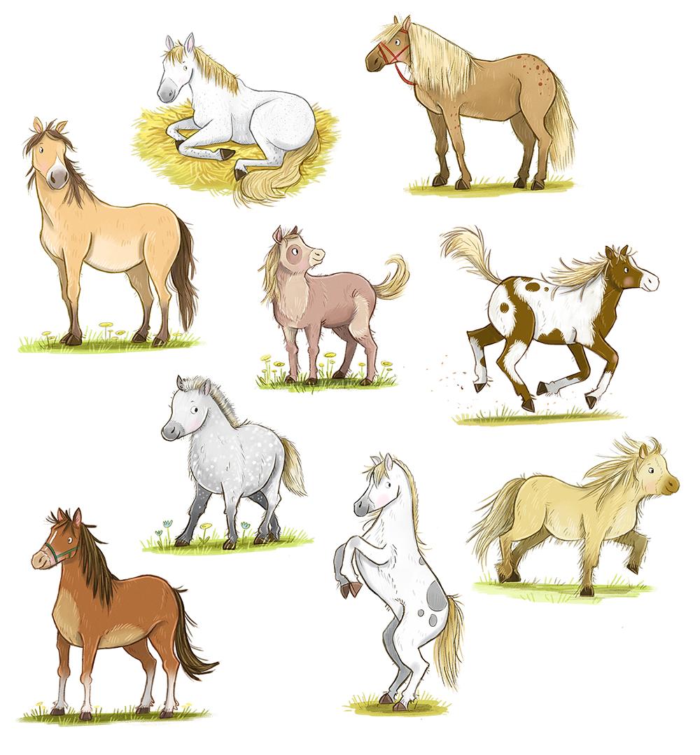 Pferde, 2020